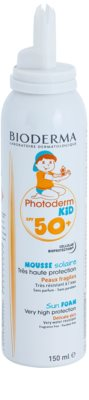 Bioderma Photoderm Kid opalovací pěna pro děti SPF 50+ 1