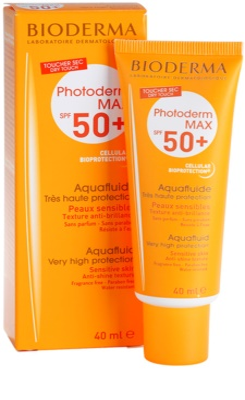 Bioderma Photoderm Max zaščitni matirajoči fluid za obraz SPF 50+ 2