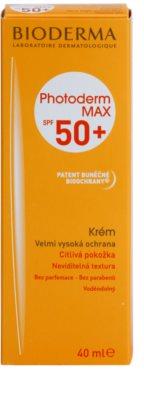 Bioderma Photoderm Max crema solar para pieles intolerantes  SPF 50+ 2