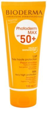 Bioderma Photoderm Max loción solar para pieles intolerantes  SPF 50+