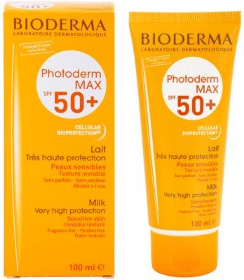 Bioderma Photoderm Max молочко для засмаги для інтолерантної шкіри SPF 50+ 1