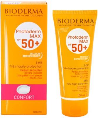 Bioderma Photoderm Max молочко для засмаги для інтолерантної шкіри SPF 50+ 2