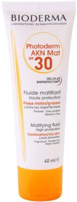 Bioderma Photoderm AKN fluido protector matificante para rostro SPF 30
