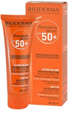 Bioderma Photoderm Bronz fluido solar facial SPF 50+ 2