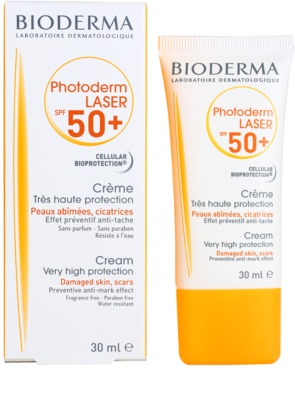 Bioderma Photoderm Laser Sonnencreme gegen Pigmentflecken SPF 50+ 2