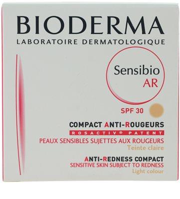 Bioderma Sensibio AR компактен грим  за чувствителна кожа със склонност към почервеняване 2