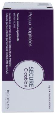 Bioderma Secure Cicabio K tratament calmant pentru piele delicata si slabita 2