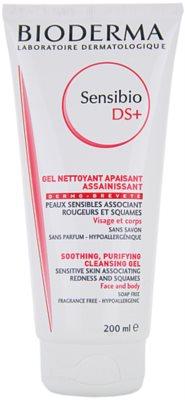 Bioderma Sensibio DS+ gel limpiador para pieles sensibles