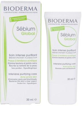 Bioderma Sébium Global intenzív ápolás zsíros és problémás bőrre 2
