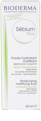 Bioderma Sébium Mat fluido para pele mista e oleosa 3