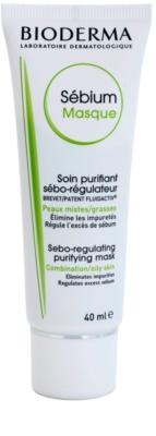 Bioderma Sébium Masque čistilna maska za mešano in mastno kožo