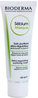 Bioderma Sébium Masque tisztító maszk kombinált és zsíros bőrre