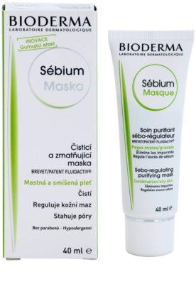 Bioderma Sébium Masque čistilna maska za mešano in mastno kožo 1