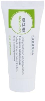 Bioderma Secure Sébium ISO зволожуючий крем для зневодненої та подразненої шкіри після лікування акне