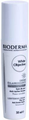 Bioderma White Objective aufhellende Crem gegen Pigmentflecken