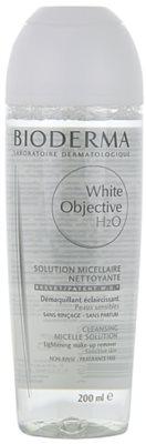 Bioderma White Objective tisztító tonik a pigment foltok ellen