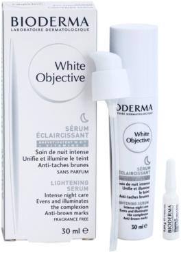 Bioderma White Objective éjszakai bőrvilágosító szérum a pigment foltok ellen 1