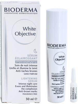 Bioderma White Objective éjszakai bőrvilágosító szérum a pigment foltok ellen 2