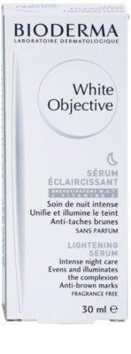 Bioderma White Objective éjszakai bőrvilágosító szérum a pigment foltok ellen 3
