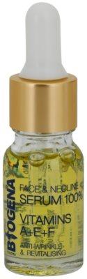 Biogena Face&Neckline Serum 30+ ránctalanító és regeneráló szérum vitaminokkal A + E + F