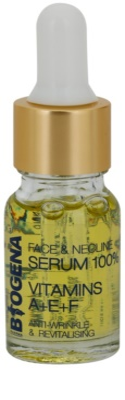 Biogena Face&Neckline Serum 30+ regenerierendes Antifaltenserum mit Vitaminen A+E+F
