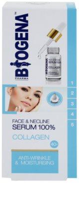 Biogena Face&Neckline Serum 40+ sérum hidratante antirrugas com colagénio 2