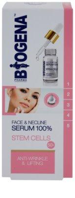 Biogena Face&Neckline Serum 50+ Sérum antirrugas e com efeito lifting com colagénio 2