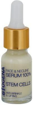 Biogena Face&Neckline Serum 50+ Sérum antirrugas e com efeito lifting com colagénio