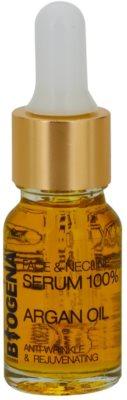 Biogena Face&Neckline Serum 35+ ser de întinerire si antirid cu ulei de argan