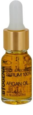 Biogena Face&Neckline Serum 35+ sérum antiarrugas regenerador con aceite de argán