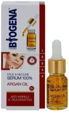 Biogena Face&Neckline Serum 35+ fiatalító ránctalanító szérum argánolajjal 1