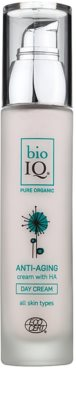 BioIQ Face Care nährende, hydratisierende Tagescreme gegen Hautalterung