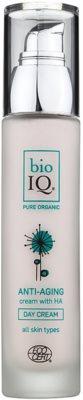 BioIQ Face Care поживний зволожуючий денний крем проти старіння шкіри