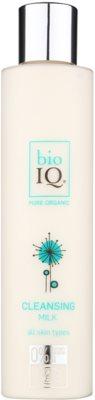 BioIQ Face Care Reinigungs - und Abschminkmilch mit feuchtigkeitsspendender Wirkung