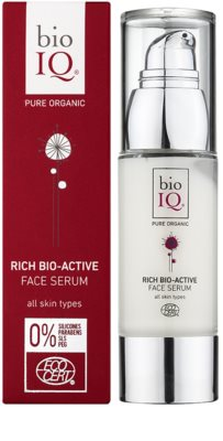 BioIQ Face Care bioaktives Hautserum mit regenerierender Wirkung 1
