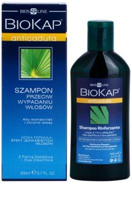 Biokap Hair Loss зміцнюючий шампунь проти випадіння волосся 1