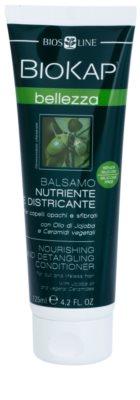 Biokap Beauty подхранващ балсам за по-лесно разресване на косата