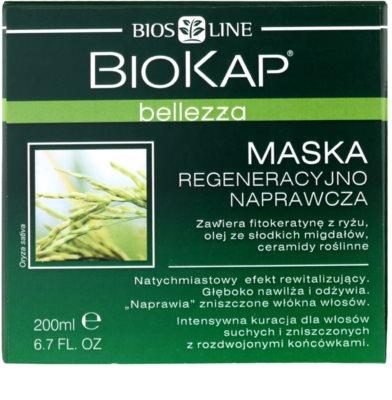 Biokap Beauty maska odżywczo regenerująca do włosów suchych i zniszczonych 2