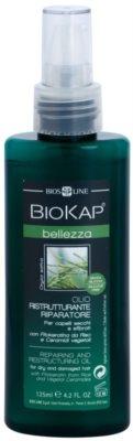 Biokap Beauty olejek regenerujący do włosów suchych i zniszczonych