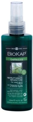 Biokap Beauty regeneracijsko in obnovitveno olje za suhe in poškodovane lase