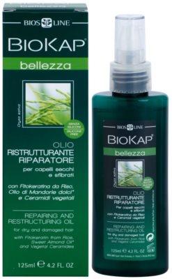 Biokap Beauty regeneracijsko in obnovitveno olje za suhe in poškodovane lase 2