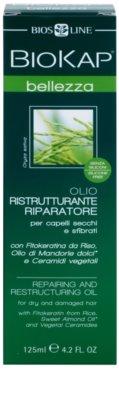 Biokap Beauty óleo regenerador e restaurador para cabelo seco a danificado 3