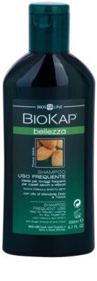 Biokap Beauty champô para lavagem frequente de cabelo
