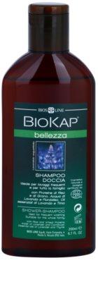 Biokap Beauty sampon és tusfürdő gél 2 in 1