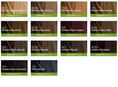 Biokap Nutricolor Delicato tinte permanente para cabello con aceite de argán sin perfume 3