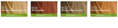 Biokap Nutricolor Delicato+ permanentna barva za lase z arganovim oljem brez dišav 3