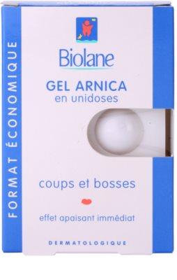 Biolane Baby Care gel de arnica para tratamiento tópico