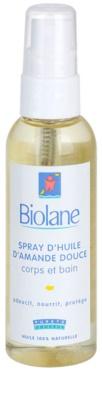 Biolane Baby Care ulei spray cu migdale dulci