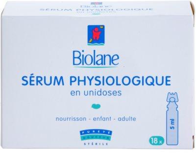Biolane Baby Care suero fisiológico en ampollas 2