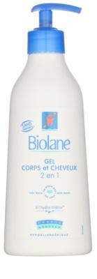 Biolane Baby Wash šampon a mycí gel 2 v 1